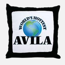 World's hottest Avila Throw Pillow