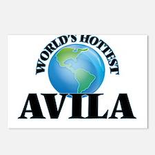 World's hottest Avila Postcards (Package of 8)