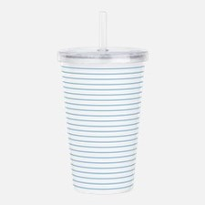 Lined Paper Effect Acrylic Double-wall Tumbler
