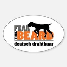 Fear the Beard - Deutsch Drahthaar Bumper Stickers