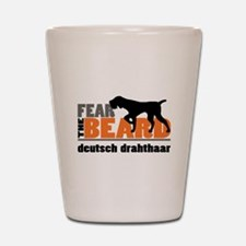 Fear the Beard - Deutsch Drahthaar Shot Glass