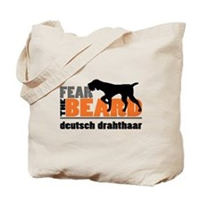 Fear the Beard - Deutsch Drahthaar Tote Bag