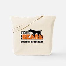 Fear the Beard - Deutsch Drahthaar Tote Bag