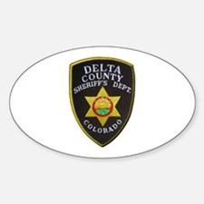 Delta County Sheriff Decal
