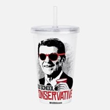 Reagan: Old School Con Acrylic Double-wall Tumbler