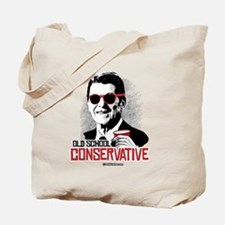 Reagan: Old School Conservative Tote Bag