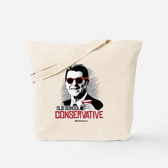 Reagan: Old School Conservative Tote Bag