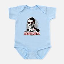 Reagan: Old School Conservative Infant Bodysuit