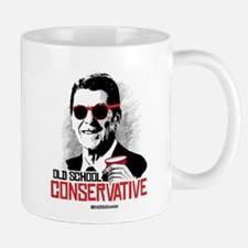 Reagan: Old School Conservative Small Small Mug