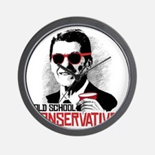 Reagan: Old School Conservative Wall Clock