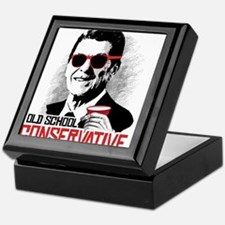 Reagan: Old School Conservative Keepsake Box