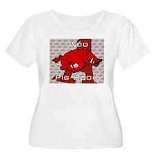 Woo Pig Sooie Plus Size T-Shirt