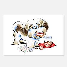 Shih Tzu Cookies Postcards (Package of 8)