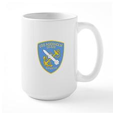 DD-826 A USS AGERHOLM Destroyer Ship Military Mugs