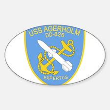 DD-826 A USS AGERHOLM Destr Decal