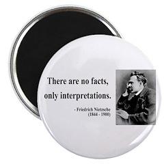 """Nietzsche 7 2.25"""" Magnet (100 pack)"""