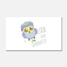 Who Graduated Car Magnet 20 x 12
