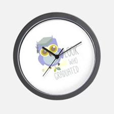 Who Graduated Wall Clock