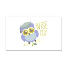 Wise Guy Car Magnet 20 x 12
