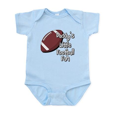 Daddy's Lil Football Fan Infant Bodysuit
