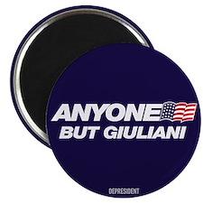 Anyone But Giuliani Magnet