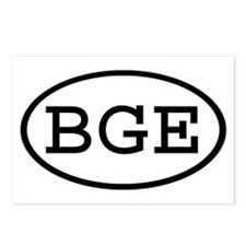 BGE Oval Postcards (Package of 8)
