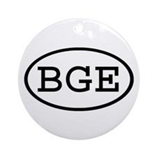 BGE Oval Ornament (Round)