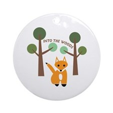Into The Woods Ornament (Round)
