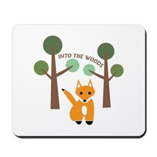Into The Woods Mousepad