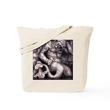Funny Merman Tote Bag