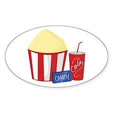 Movie Snacks Decal