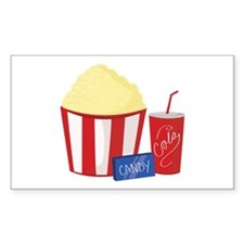 Movie Snacks Decal