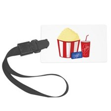 Movie Snacks Luggage Tag