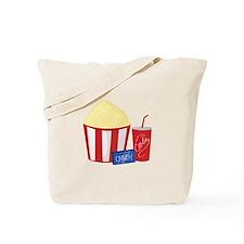 Movie Snacks Tote Bag