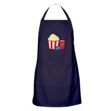 Movie Snacks Apron (dark)
