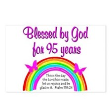 GOD LOVING 95TH Postcards (Package of 8)