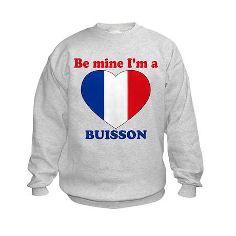 Buisson, Valentine's Day Kids Sweatshirt