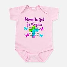 JESUS LOVING 95TH Infant Bodysuit