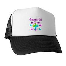 JESUS LOVING 95TH Trucker Hat
