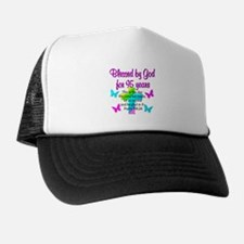 JESUS LOVING 95TH Trucker Hat
