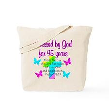 JESUS LOVING 95TH Tote Bag