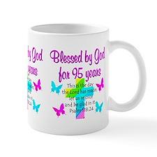 JESUS LOVING 95TH Small Mug