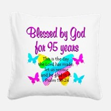 RELIGIOUS 95TH Square Canvas Pillow