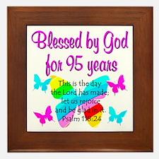 RELIGIOUS 95TH Framed Tile