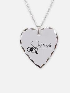 stethoscope vet tech design Necklace