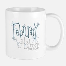 February Baby Mugs