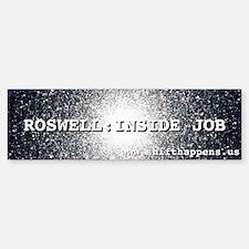 ROSWELL 60th BUMPER STICKER