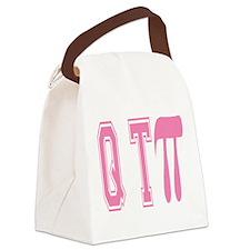 Cutie Pie - QT Canvas Lunch Bag