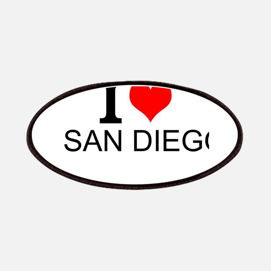 I Love San Diego Patches