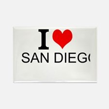 I Love San Diego Magnets